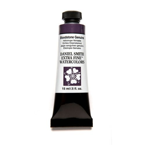 Daniel Smith Extra Fine Watercolor 15ml Paint Tube, Bloodstone Genuine