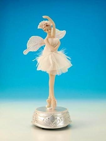 Spieluhr Ballerina mit Flügeln Blumenwalzer: Amazon.de: Küche & Haushalt