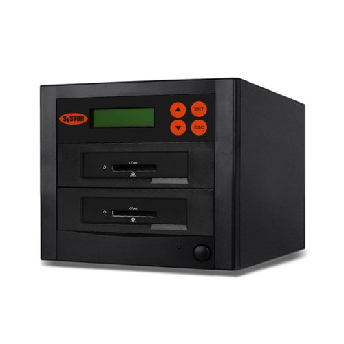 SySTOR 1 to 1 Multiple CFast Memory Card Duplicator / Drive Copier (SYS-CFast-1) (60MB/sec) by Systor Systems