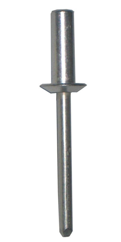 Aluminum Closed END Blind Rivet with Aluminum Mandrel, Dome Head, 3/16 Body Dia. X .376-.500 Grip Range (Pack of 100)