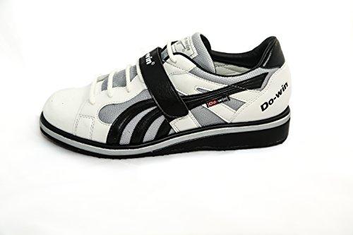 Do-Win - Zapatillas de running para hombre multicolor blanco, negro