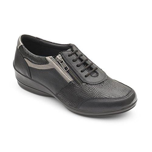 Wedge Noir Chaussures Texture Steffi De Peter Casual Multi Kaiser 2 Femme naq6AT