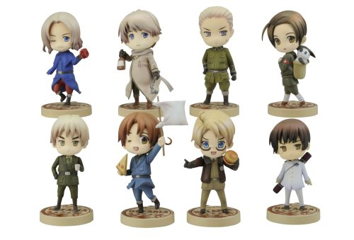 Hetalia One Coin Trading Figure Box of 9 Random by Kotobukiya