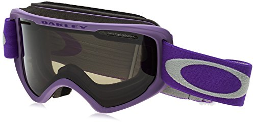Oakley O2 XM Adult Goggles - Nordic Pink Purple/Dark Grey / One - Purple Oakley Lenses
