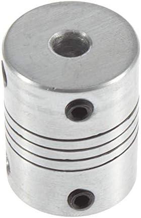 KEKJORY 5x8 mm Motor Jaw Shaft Coupler 5mm To 8mm Flexible Coupling OD 19x25mm