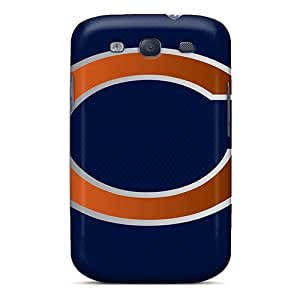 AlissaDubois Samsung Galaxy S3 Durable Hard Phone Cases Custom High-definition Chicago Bears Series [cIE9790FJZA]