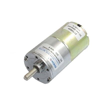 DealMux 37 milímetros de diâmetro Parts Grill Eletrônico motor engrenado 5 rpm 24VDC