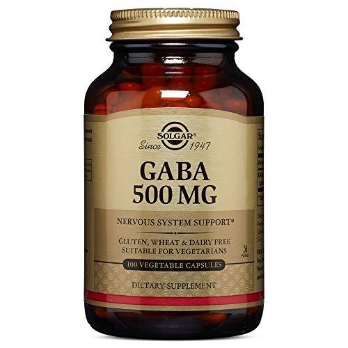 Solgar - GABA 500 mg, 100 Vegetable Capsules