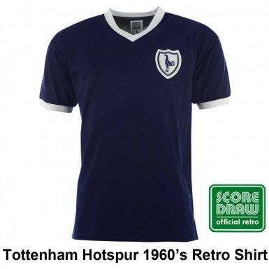 Image Unavailable. Image not available for. Color  Tottenham Hotspur Spurs  1960 s Retro Soccer Shirt ... e7c41e9bd