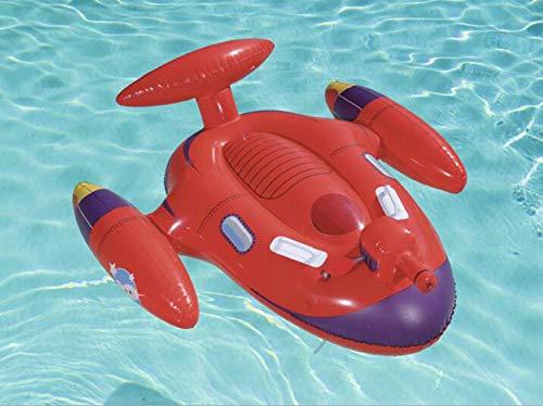 DUBAOBAO Paseo Inflable de la Nave Espacial de los niños, rociador ...