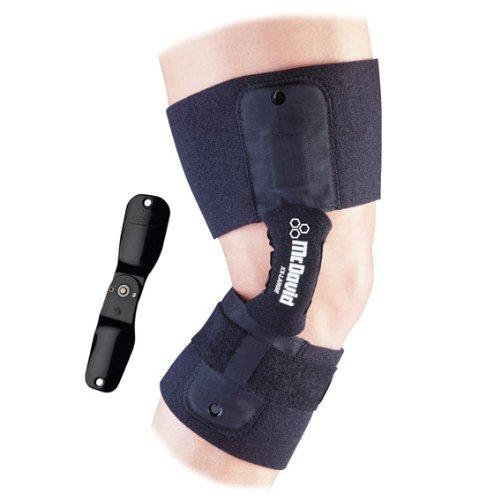 Mcdavid Knee Brace With Polycarbonate Single Pin Hinge Tall Xxl (Mcdavid Protective Knee Guard)
