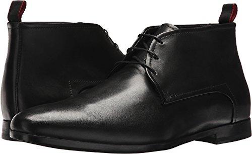 Hugo Boss BOSS Men's Pariss Leather Desert Boot by Hugo Black 11 D US