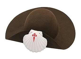 Tradicional peregrino sombrero de fieltro: Amazon.es: Ropa