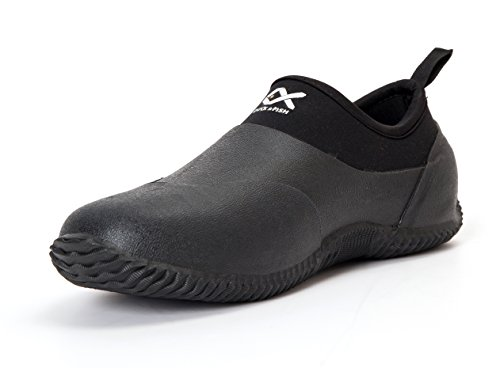 Duck and Fish Neoprene MOC Hunting Garden Shoe (10 US) Black