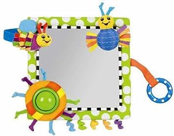 Amazon.com : Sassy Me in Mirror Crib Floor Baby Toy Interactive New ...