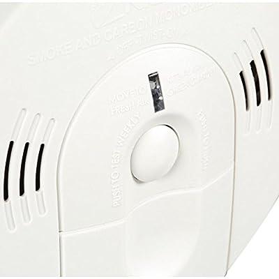 Kidde Intelligent Alarm Battery Operated Combination Smoke & Carbon Monoxide Alarm KN-COSM-XTR-BA