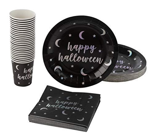 Disposable Dinnerware Set - Serves 24 - Halloween