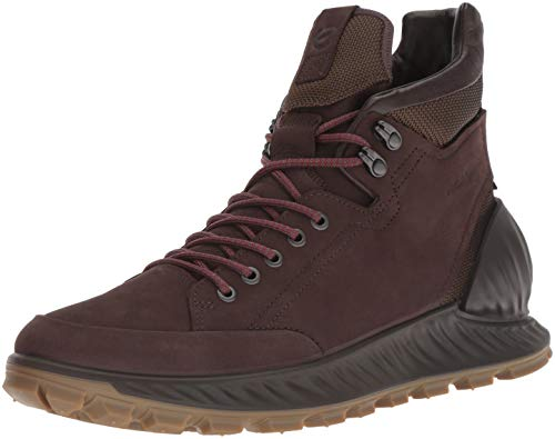 (ECCO Men's EXOSTRIKE Hydromax Hiking Shoe, Mocha Yak Nubuck, 46 M EU (12-12.5 US))