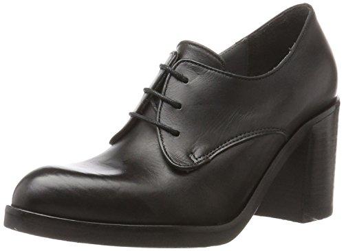 nero Negro Ner Mirel Zapatos Mill Para De Derby Cordones Mujer Lili zUqx4Z8n