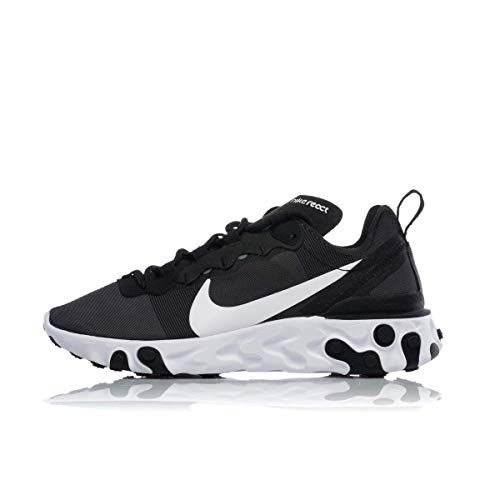 Nike W React Element 55 Zapatillas de Running, Mujer, Negro (Black ...
