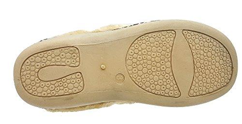 Dunlop ,  Damen Durchgängies Plateau Sandalen mit Keilabsatz
