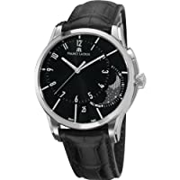 Maurice Lacroix Men's PT6318-SS001330 Pontos Black Moon Phase Dial Watch by Maurice Lacroix