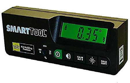 Measures Inclinations through 360/° SmartTool STM-PRO Digital Inclinometer 0.05/° HighResolution New Professional model /% Slopes /& mm//m Pitch