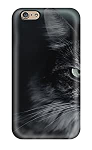 New FXpuzUu11630VWAGM Angry Cat Skin Case Cover Shatterproof Case For Iphone 6