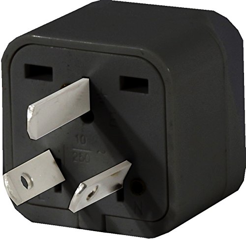 High Quality US to AUSTRALIA / NEW ZEALAND / FIJI Travel Adapter Plug for USA/Universal to AUSTRALIAN Type I Power Plugs Pack of 1