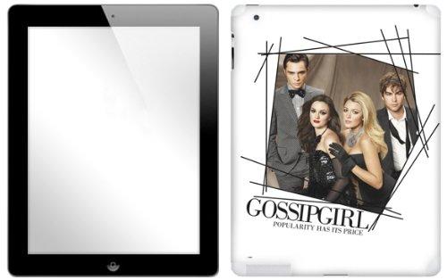Zing Revolution Gossip Girl Premium Vinyl Adhesive Skin for iPad 2/3 (ms-GGRL40351)