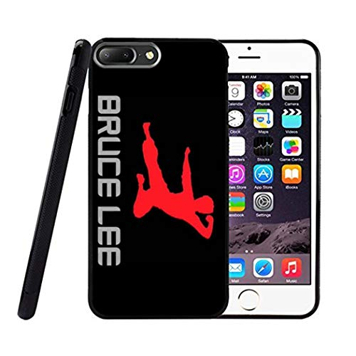PHD WAN Bruce Lee iPhone 6 Plus Phone case, Ultra-Thin Soft TPU Bumper Silicone Anti-Drop Durable Graphic Protective case for iPhone 6 Plus