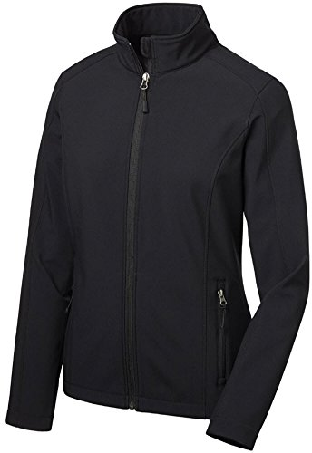 - Joe's USA(tm Ladies Lightweight Active Soft Shell Jacket-Black-M