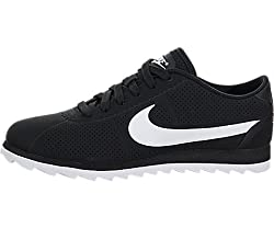 Nike Women's Wmns Cortez Ultra Moire, BLACK/WHITE-BLACK, 12 US