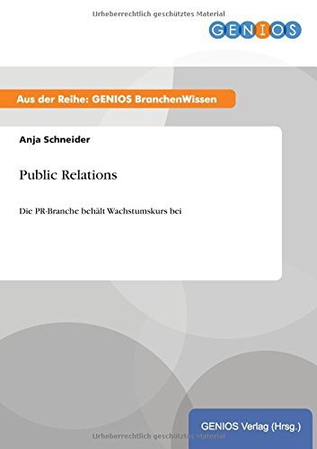 Download Public Relations (German Edition) pdf epub