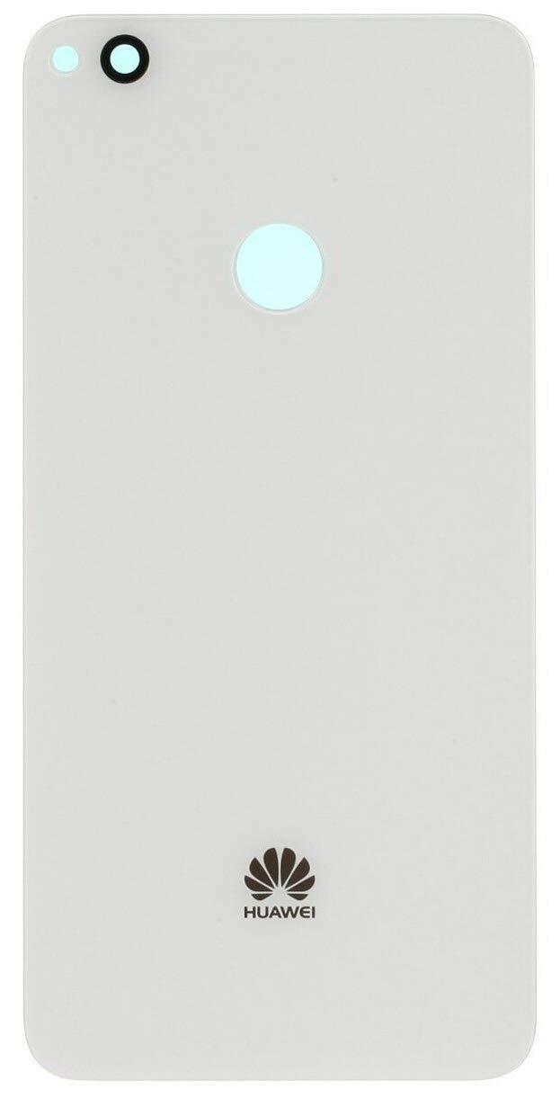 Blanco Desconocido Tapa Bater/ía para Huawei P8 Lite 2017 ALE-L21 Color Negro Blanco Oro Cristal Trasero Cubierta Trasera