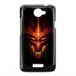 HTC One X Cell Phone Case Black Diablo Phone cover E1339243