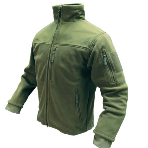 Condor Micro Fleece Jacket,Green,XX-Large
