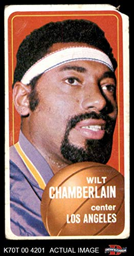 1970 Topps # 50 Wilt Chamberlain Los Angeles Lakers (Basketball Card) Dean's Cards AUTHENTIC Lakers