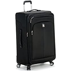 Delsey Luggage Helium Ultimate 29 Inch EXP Spinner Trolley, Black, One Size