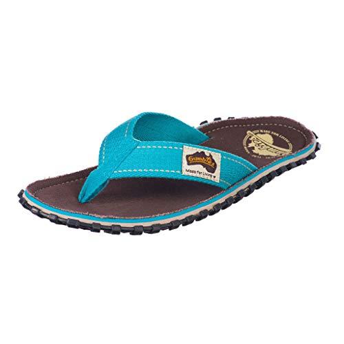 GUMBIES Unisex Flip Flop Sandals, Farbe: Brown Retro, Gr: 44