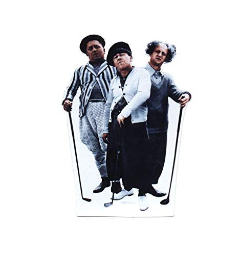 Advanced Graphics The Three Stooges Golf Life Size Cardboard Cutout Standup (Picture Stooges Three Golf)