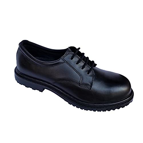 Excelshoes Men's Oil & Slip Resistant Works Shoe