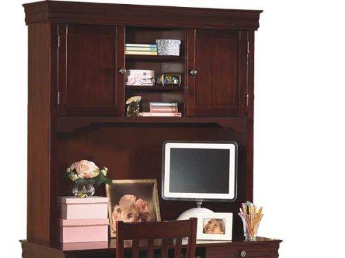 New Classic Furniture 1040-092 Versailles Hutch, Bordeaux