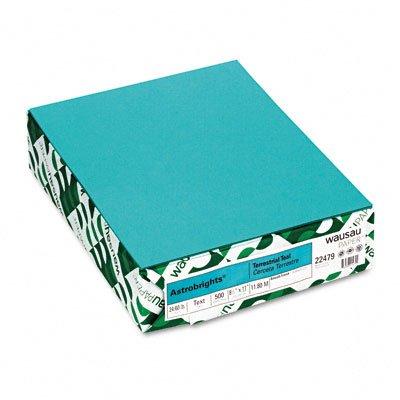 24 Color Inkjet (Wausau Paper AstroBright Color Laser/Inkjet Paper, 24 lb, Letter Size (8.5 x 11), Teal, 500 Sheets)