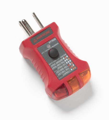 Amprobe ST-102B Socket Tester with GFCI by Amprobe (Image #1)