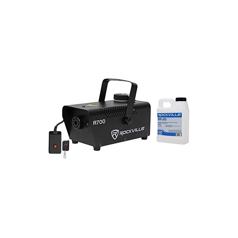 Rockville R700 Fog/Smoke Machine w/ Remo