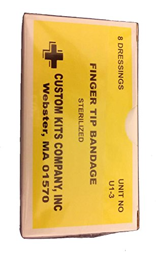 (New First Aid Unitized Kit Truck Refills Adhesive Bandage Sterile 1x3)