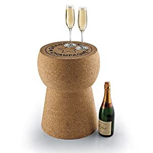 Amazon Com Giant Champagne Cork Stool Table Kitchen Amp Dining