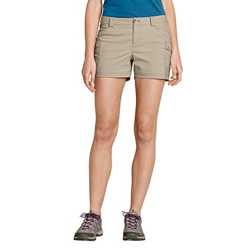 Eddie Bauer Womens Short (Eddie Bauer Women's Horizon Cargo Shorts, Oyster 10)