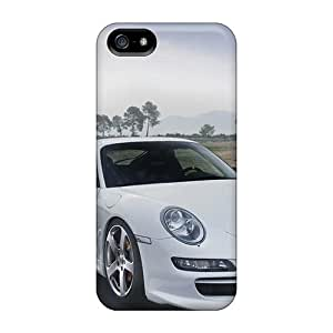 Snap-on Cases Designed For Iphone 5/5s- Porsche Mansory White